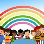 School Students Children Rainbow  - geralt / Pixabay